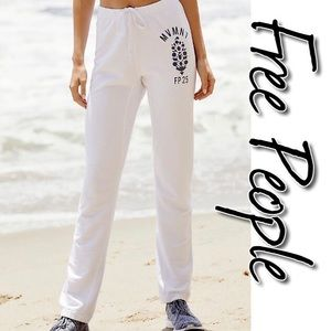 Free People Just Chillin Joggers NWT M